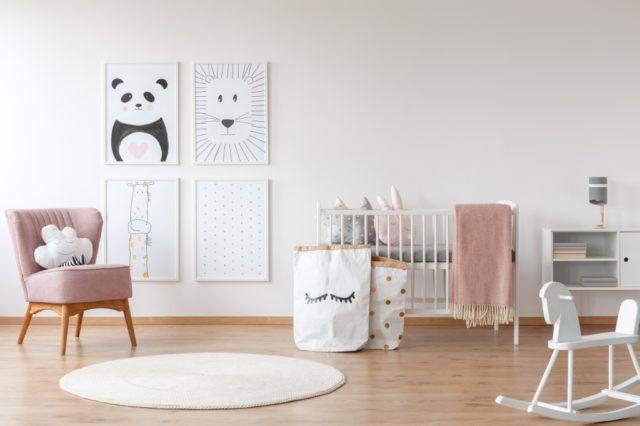 Eames Schommelstoel Babykamer.Tips Voor Het Inrichten Van De Babykamer Ik Woon Fijn