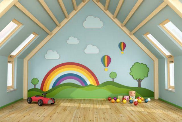Muurstickers Kinderkamer K3.Een Zolder Inrichten Als Kinderkamer 10 Tips Ik Woon Fijn