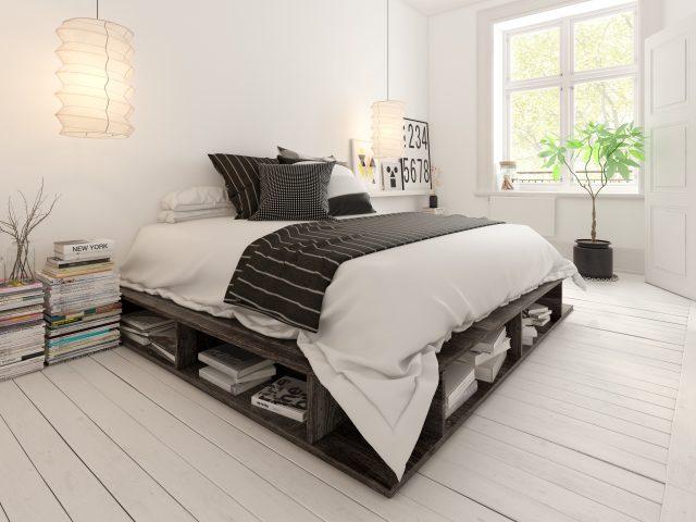 Kleine Minimalistische Slaapkamer : Een kleine slaapkamer inrichten tips ik woon fijn