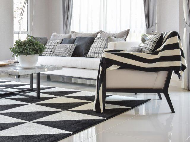 Zwarte Interieur Tips : Zo kan je een zwart wit interieur gezellig maken ik woon fijn