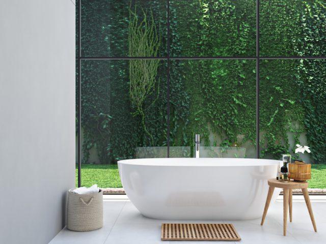 Bamboe Ladder Badkamer : Een botanische badkamer tips ik woon fijn