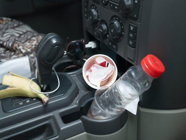 auto opruimen