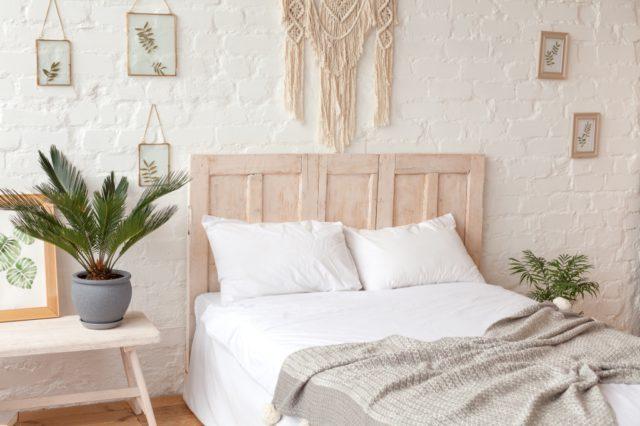 slaapkamer hout