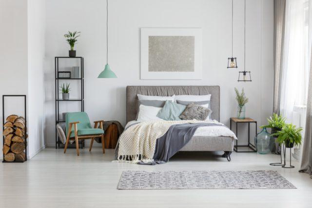 slaapkamer pastel