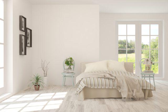 witte slaapkamer inrichten