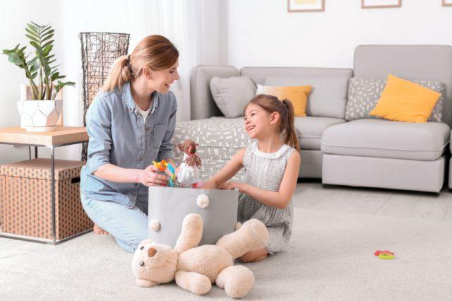 opberg speelgoed woonkamer