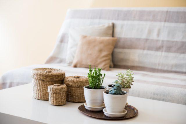 landelijke accessoires woonkamer