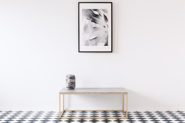 minimalistische decoratie