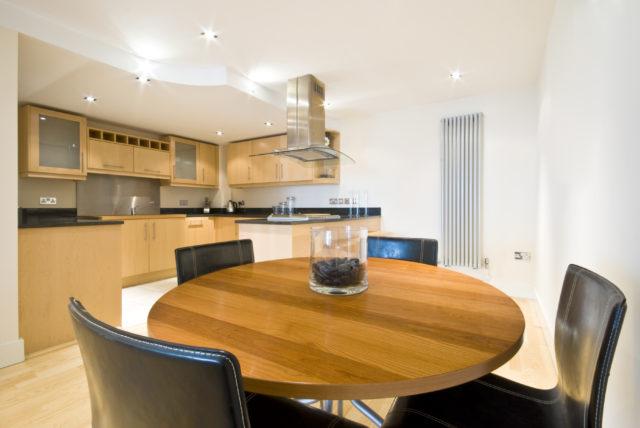 ronde tafel interieur