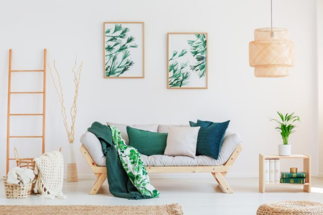 bamboe in huis
