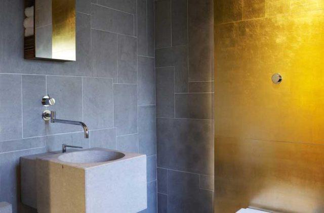badkamer goud