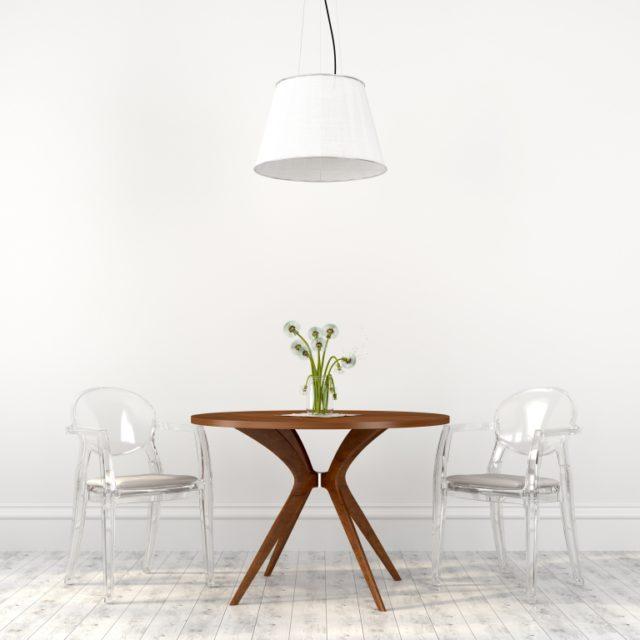 doorzichtige eetkamerstoelen