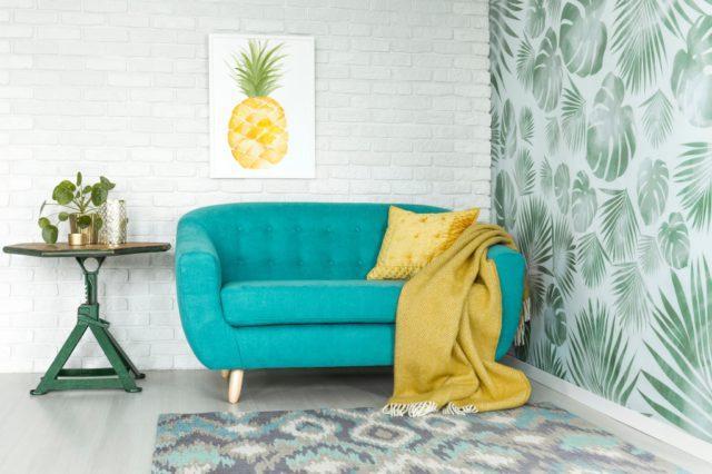 fruitig interieur