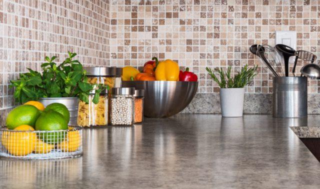 kleine planten keuken