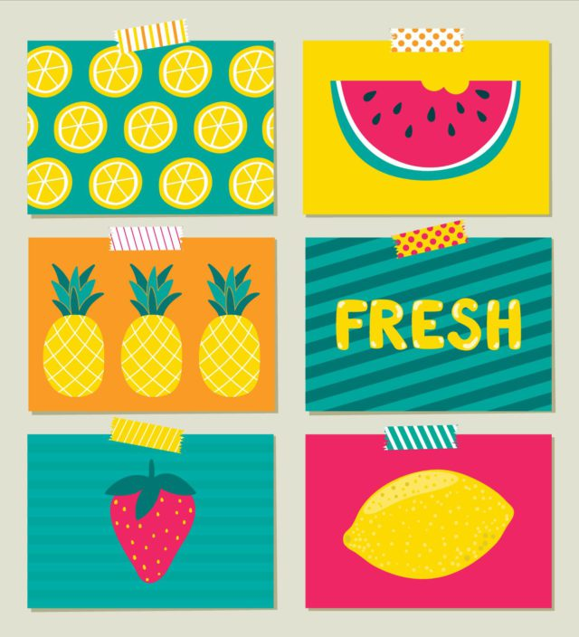 posters fruit