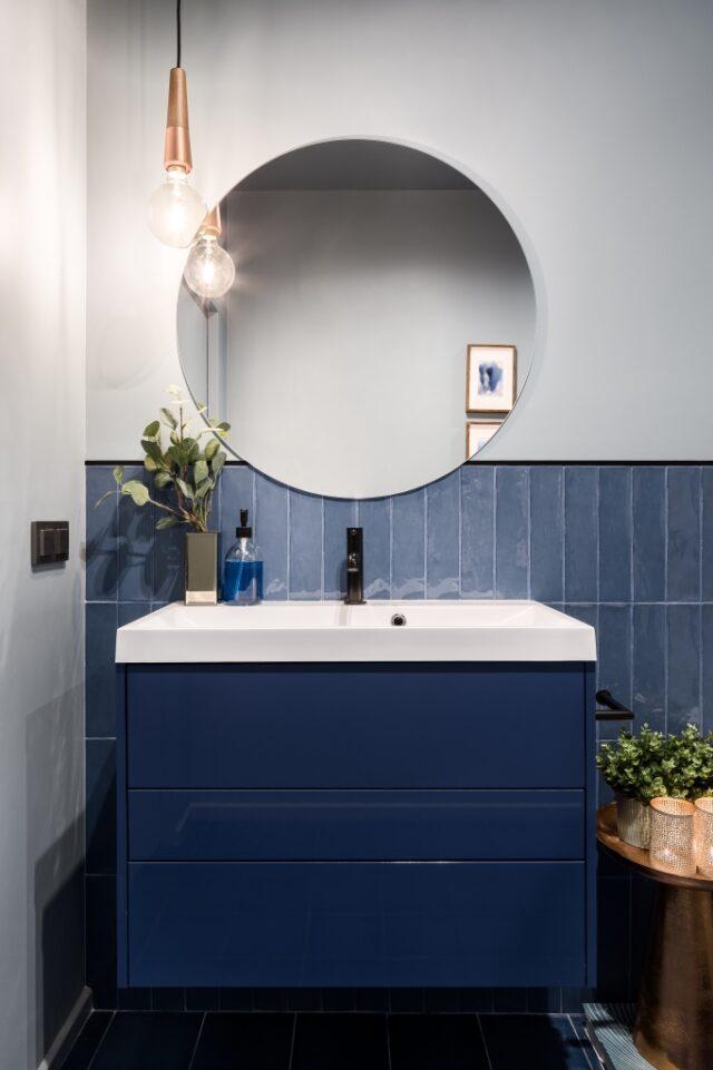 badkamermeubel blauw