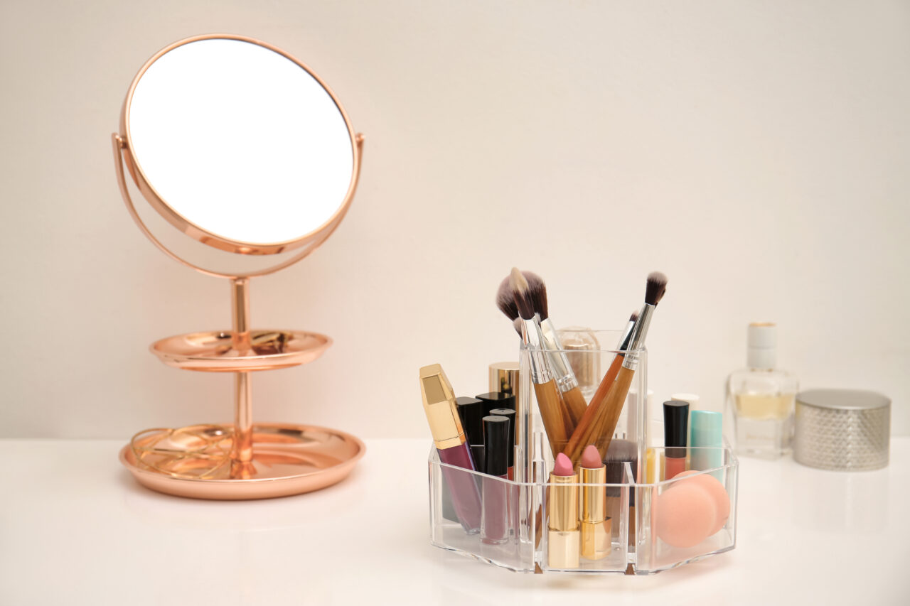 opbergen make up
