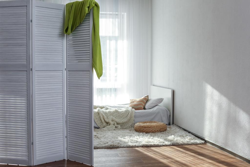 scherm slaapkamer