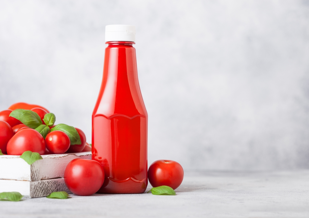 koper poetsen met ketchup