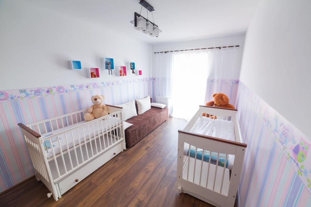 tweeling slaapkamer baby