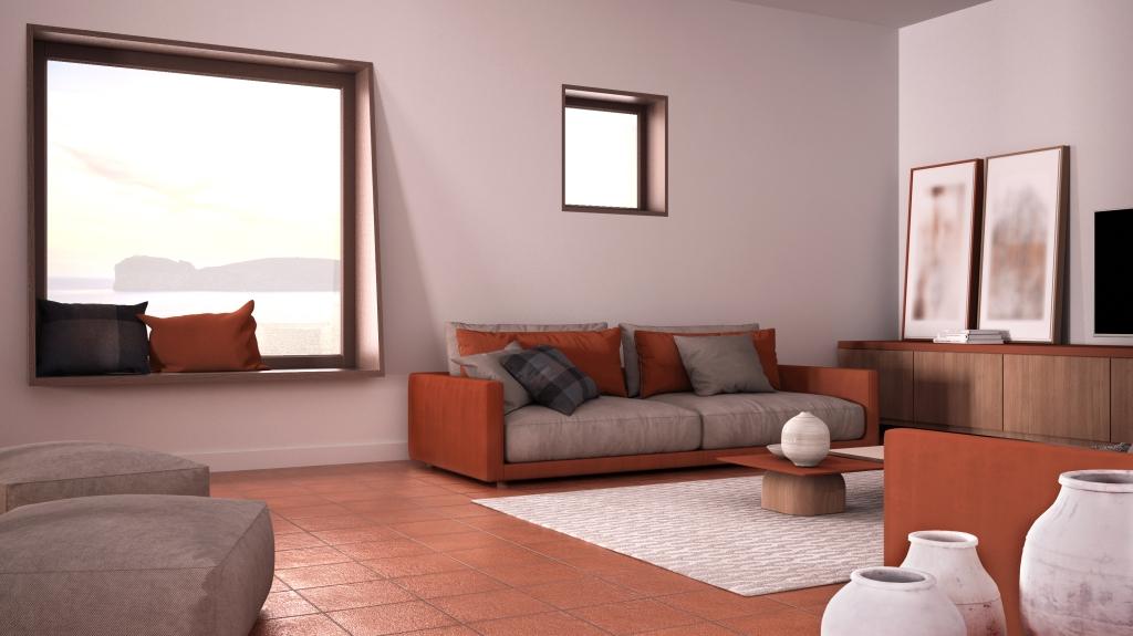 terracotta vloer