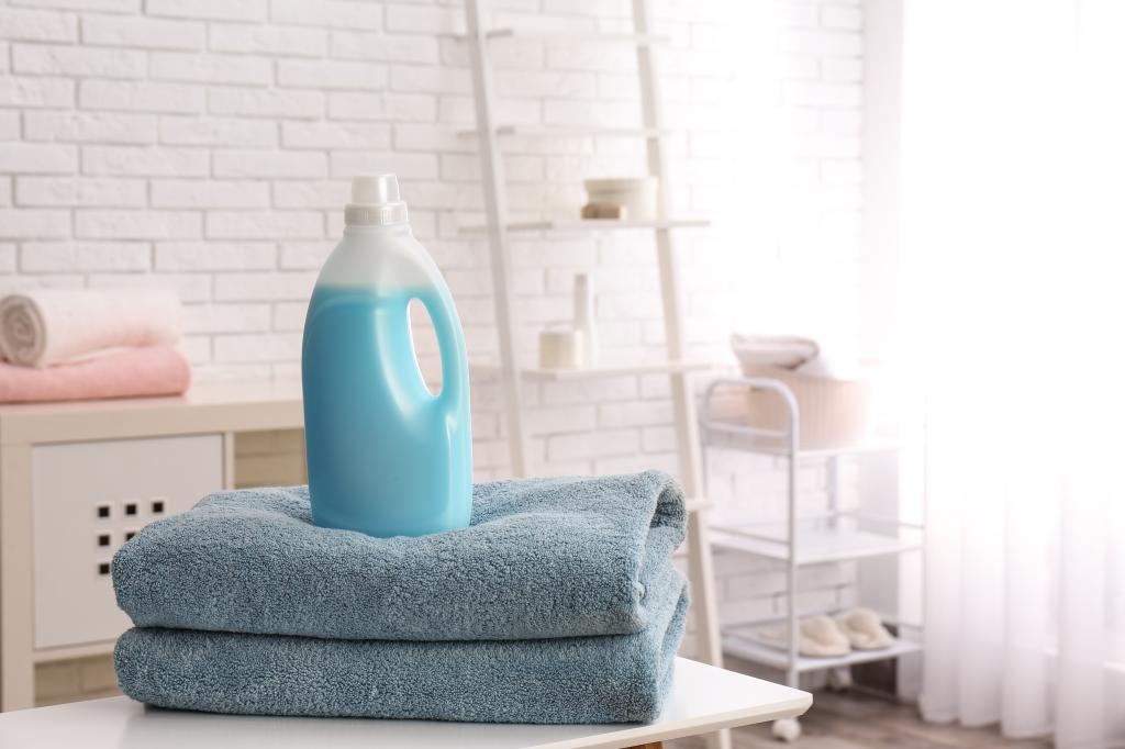 schoonmaken met wasmiddel