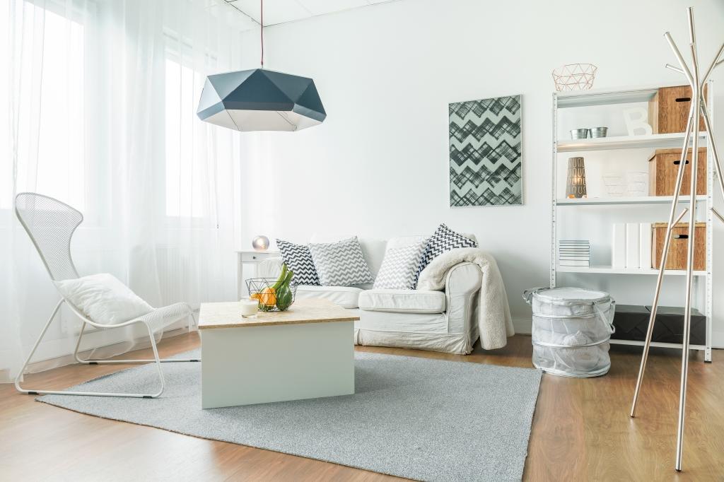 inrichting kleine woonkamer