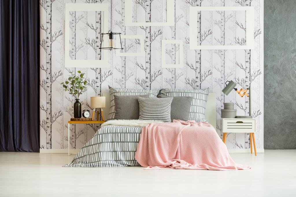 slaapkamer scandinavisch