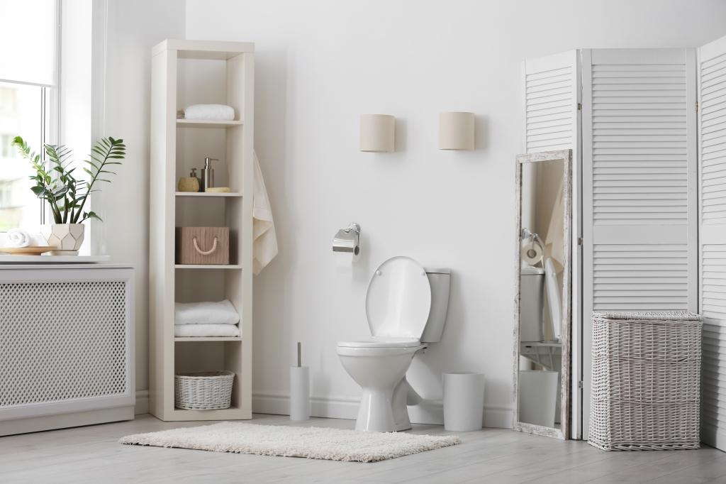 toilet inrichten