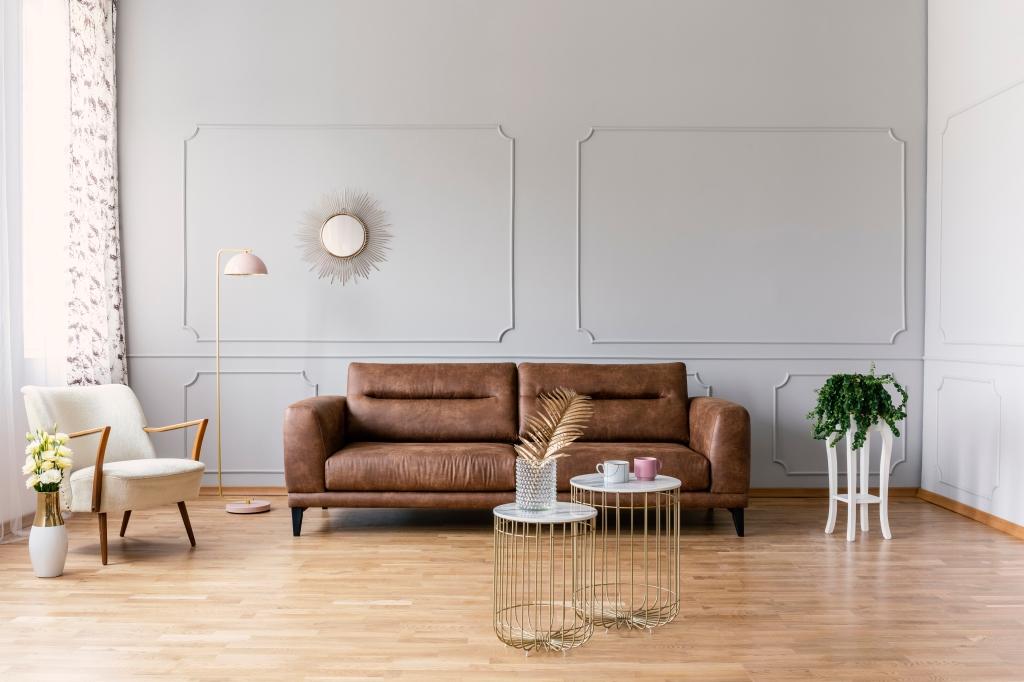 bruin combineren interieur