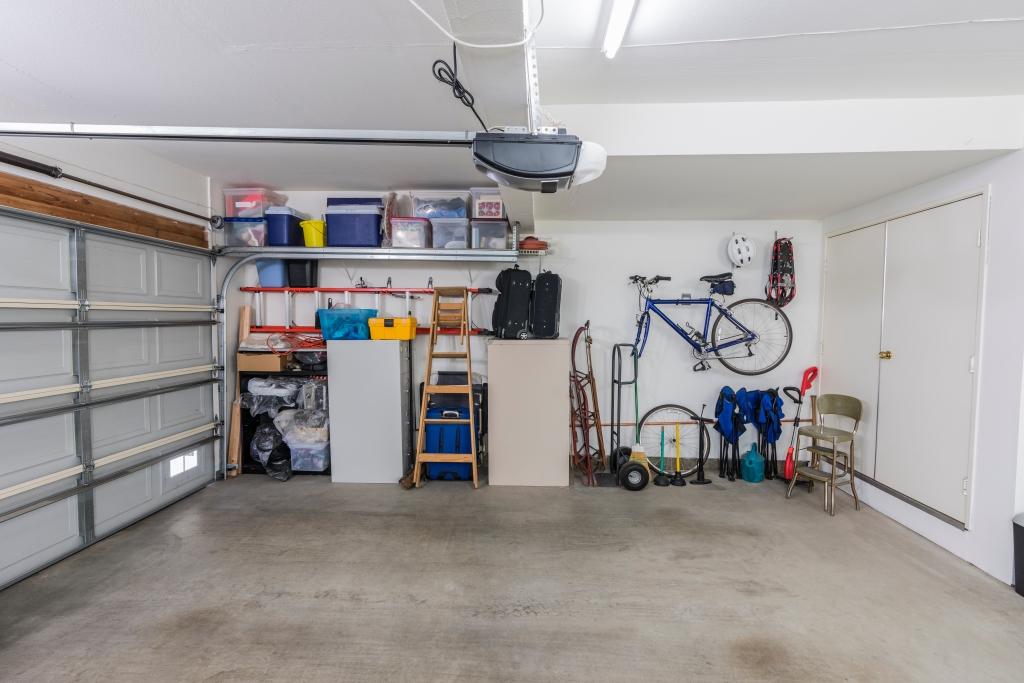 opruimen van garage